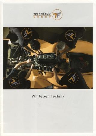 Telefrank Group Unternehmensbroschüre